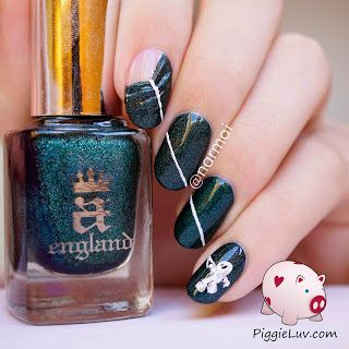 3d 'pull the curtain' nail art  nail effects beauty