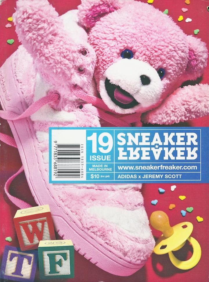 eda5bee85b70 Sneaker Freaker Magazine Issue   19 Adidas x Jeremy Scott