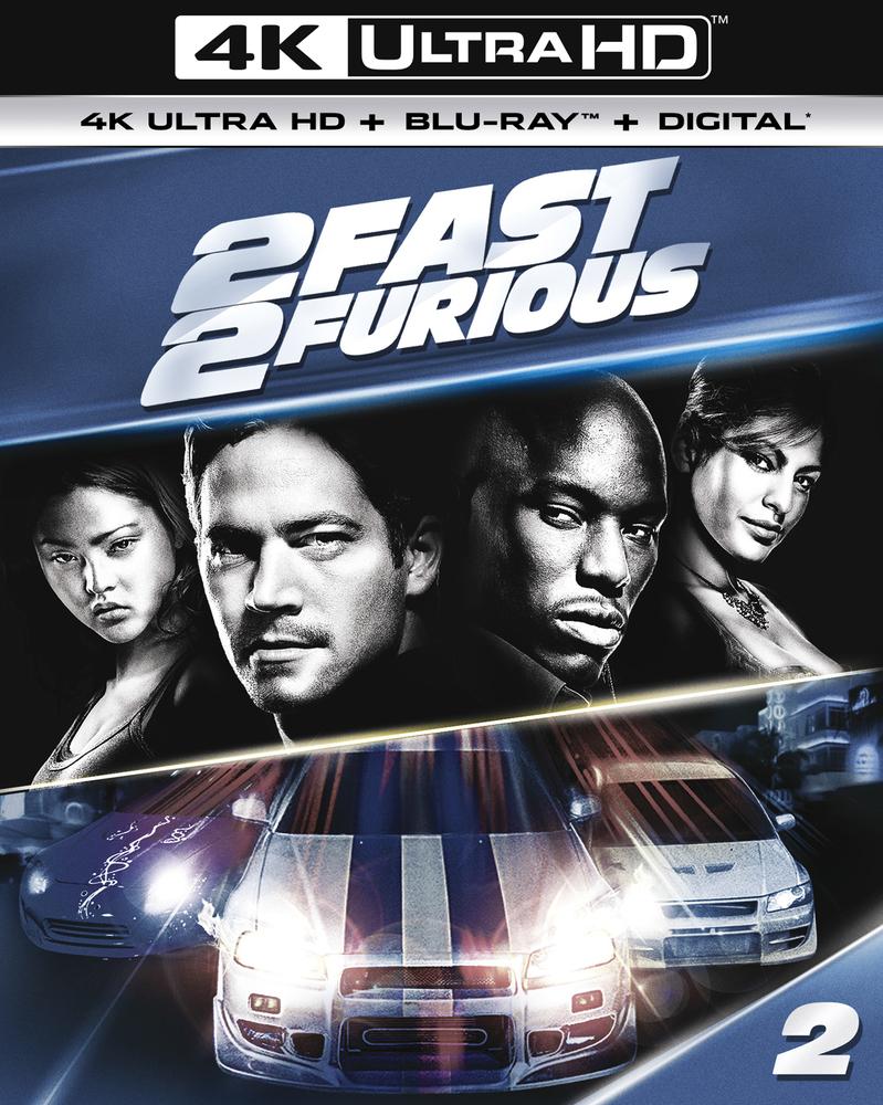 2 Fast 2 Furious Includes Digital Copy 4k Ultra Hd Blu Ray Blu