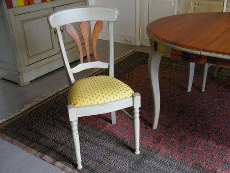 customiser table et bahut en merisier le raincy. Black Bedroom Furniture Sets. Home Design Ideas
