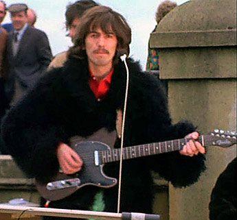 George Harrison Rosewood Telecaster Fender George Harrison Beatles George George Harrison Telecaster
