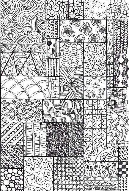 Pin By HJ On Quilting Pinterest Doodles Zentangles And Black Stunning Zentangle Pattern Ideas