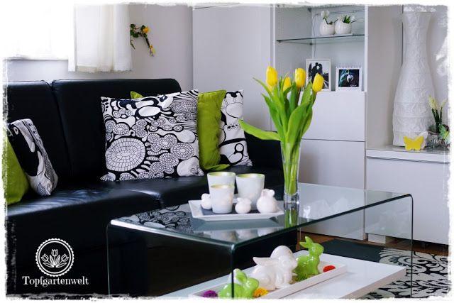 Gartenblog Topfgartenwelt Deko: Wir haben ein schwarz-weißes ...