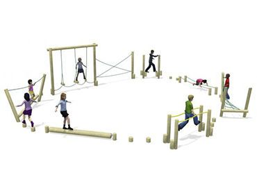 playground obstacle course adv2 caloo natural playscapes pinterest. Black Bedroom Furniture Sets. Home Design Ideas