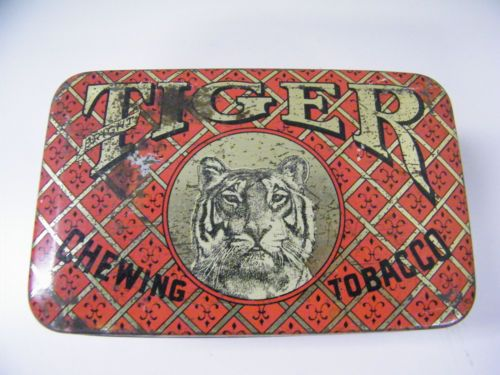 Vintage-Tiger-Chewing-Tobacco-Tin