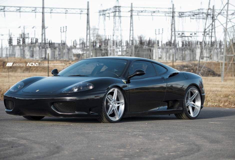 Photo 2 Ferrari 360 Modena Custom Wheels Adv 1 05 Mv2 20x9 0 Et Tire Size R20 21x11 0 Et Ferrari 360 Ferrari Tyre Size