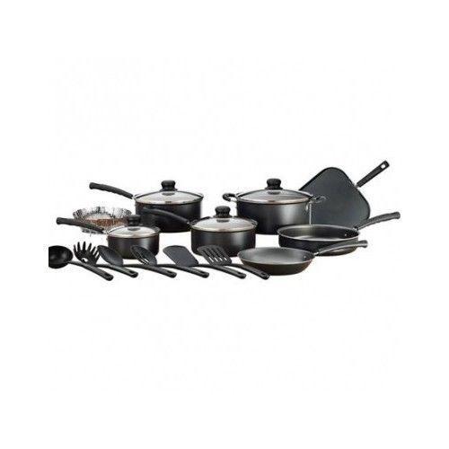 Nonstick Cookware Set Piece Pots Kitchen Pans Non Stick Cooking 18