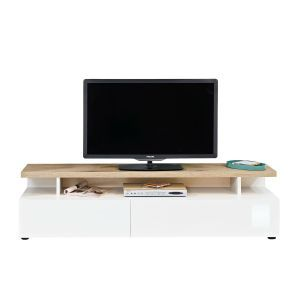 Beam TV Cabinet in White