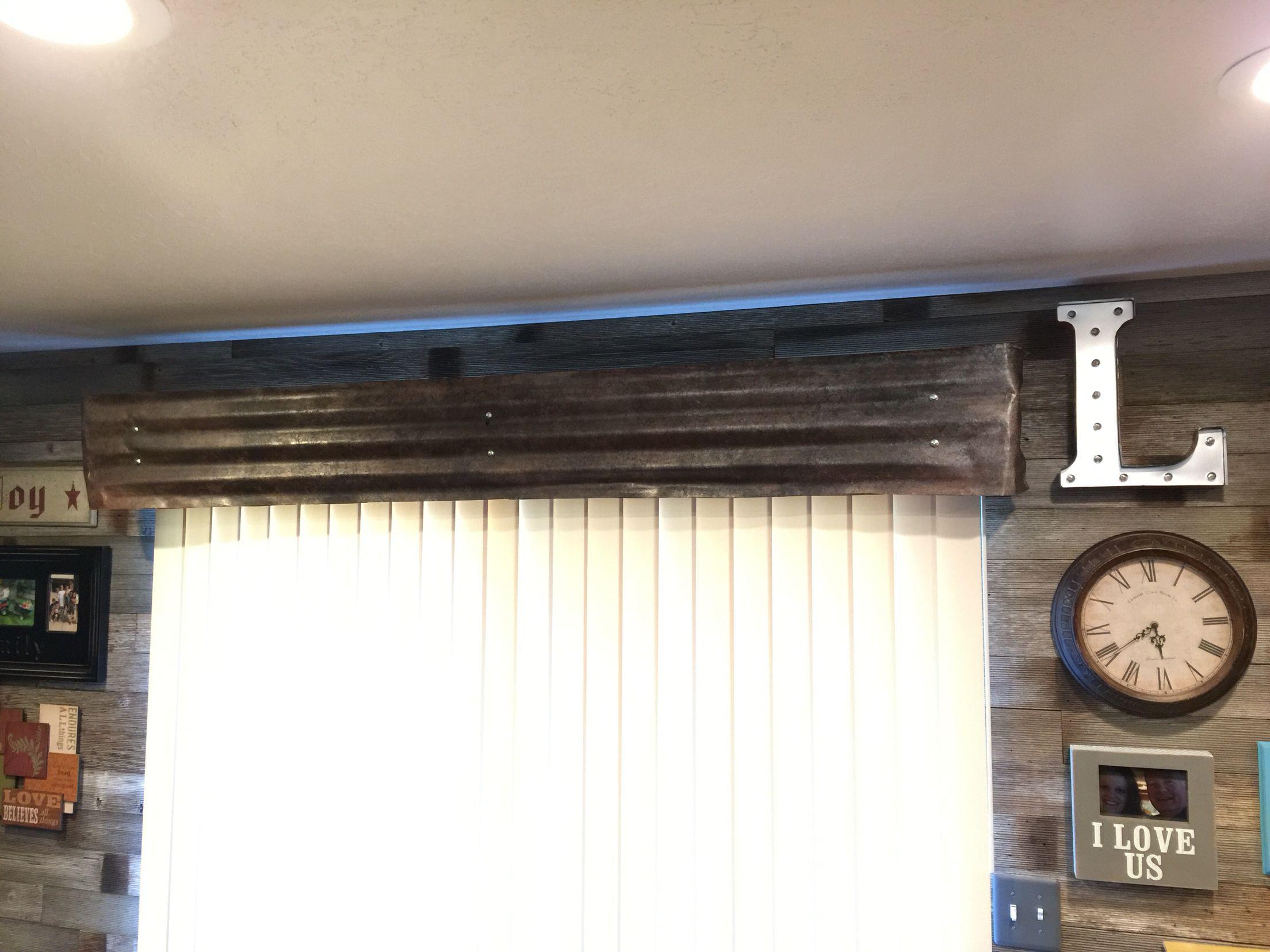 Pho Painted Corrugated Sheet Metal Valance