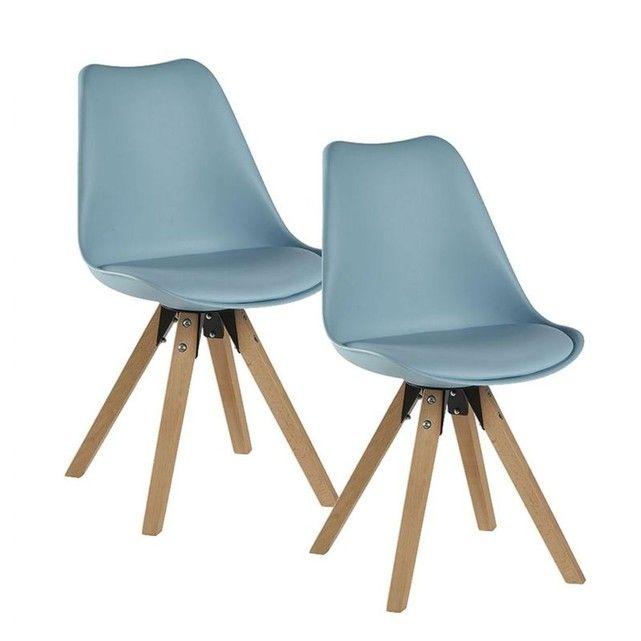 Chaise Scandinave Coque Polypropylene Chaise Scandinave Bleu Chaise Scandinave Chaise