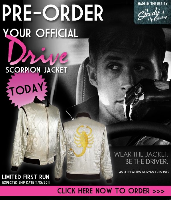 "Official ""Drive"" Scorpion Jacket"