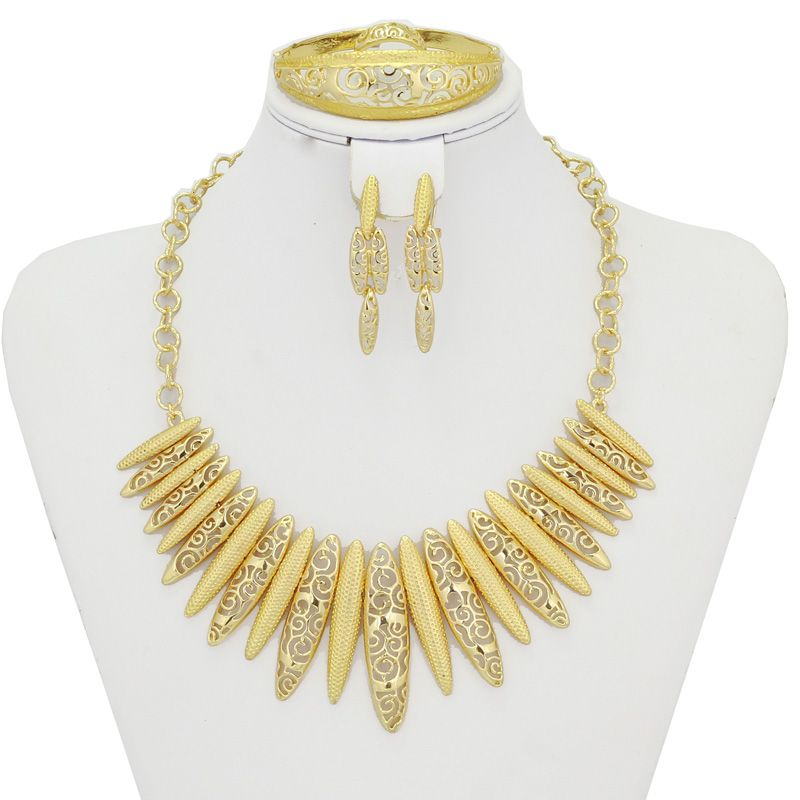 Find More Jewelry Sets Information about Dubai Arabic Gold Plated