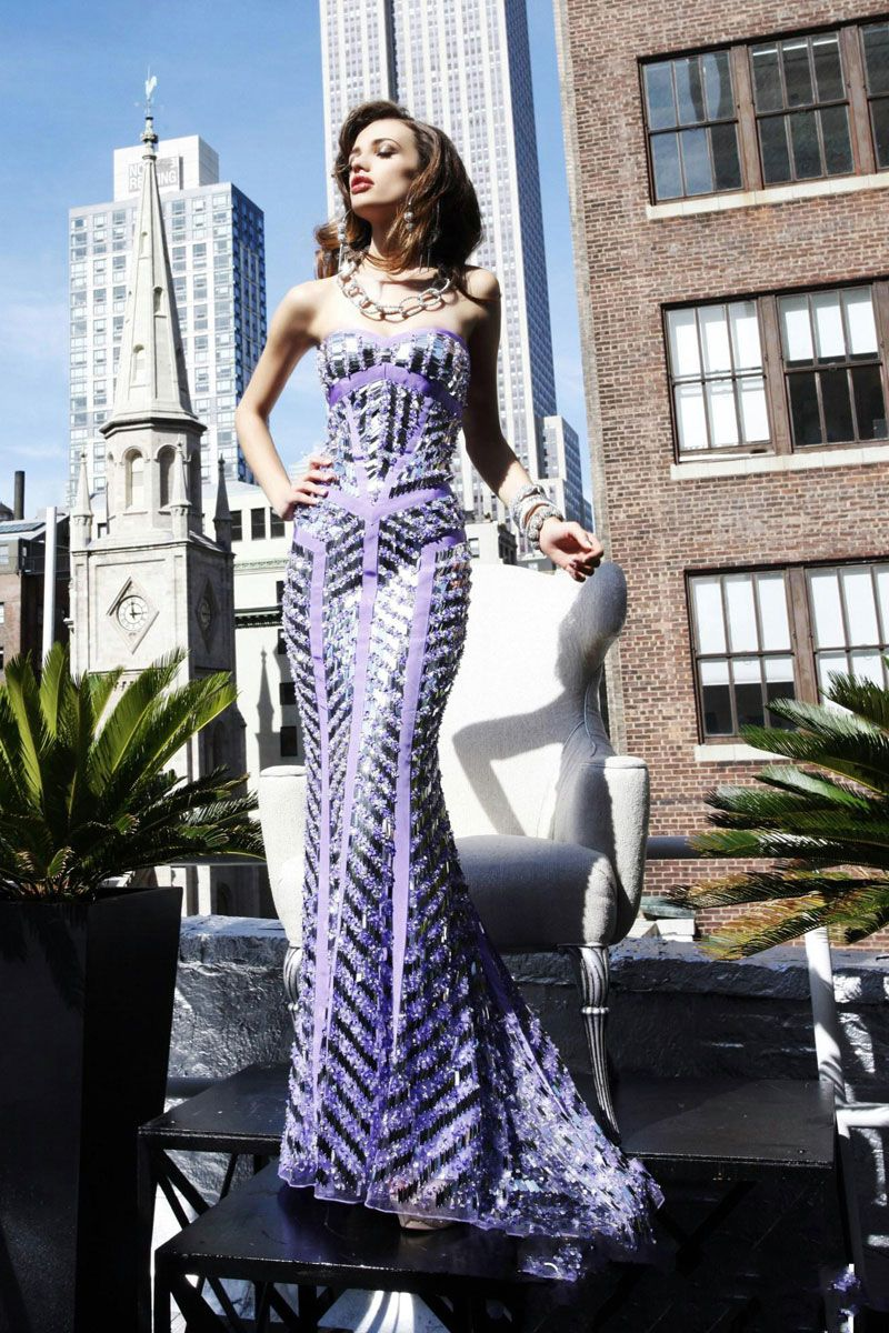beading evening long prom dress - Gopromdress.co.uk