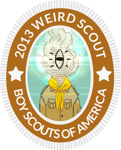 2013 weird scout boy scouts of america nightvale welcome to