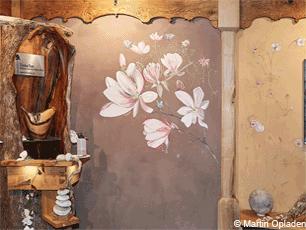 Wandmalerei Und Naturmaterialien Im Bau Von TimberTom. Holzbau   Lehmbau U2013  Naturmöbel. Tom Eisenhut