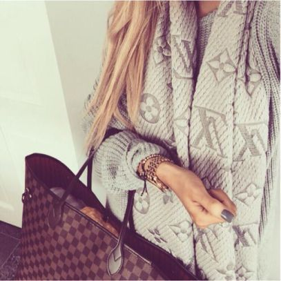 20 Scarf Styles That Will Have You Ready For Autumn #louisvuittonhandbags