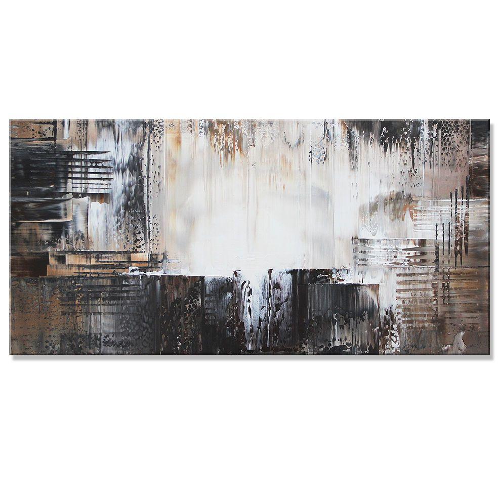 Vnartist / ORIGINAL 60cm x 120cm Abstrakt Gemälde Modern XXL Bilder ...