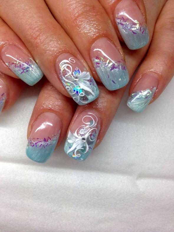 nageldesign bilder zum thema wintern gel f r fingern gel entdecken voten und pinnen nail art