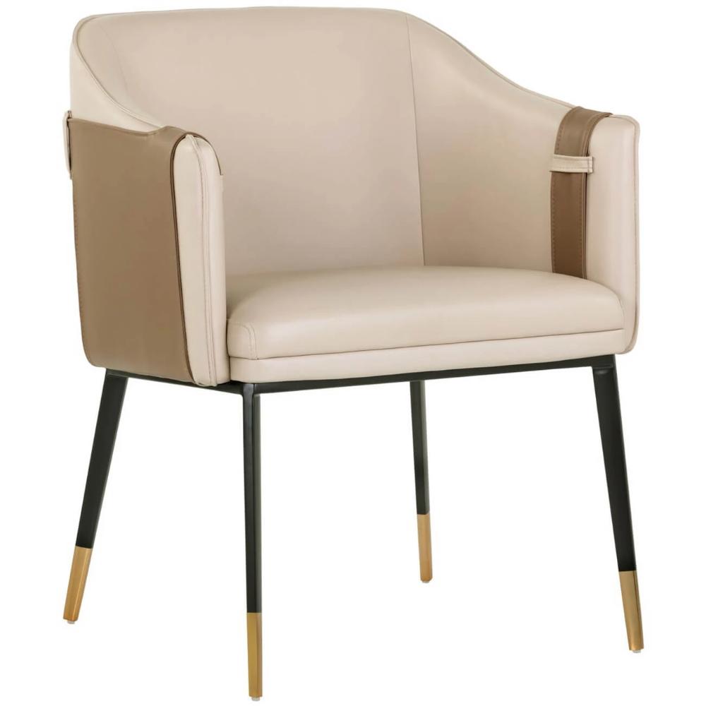 Carter Chair Napa Tan Dining Arm Chair Chair Arm Chair Covers