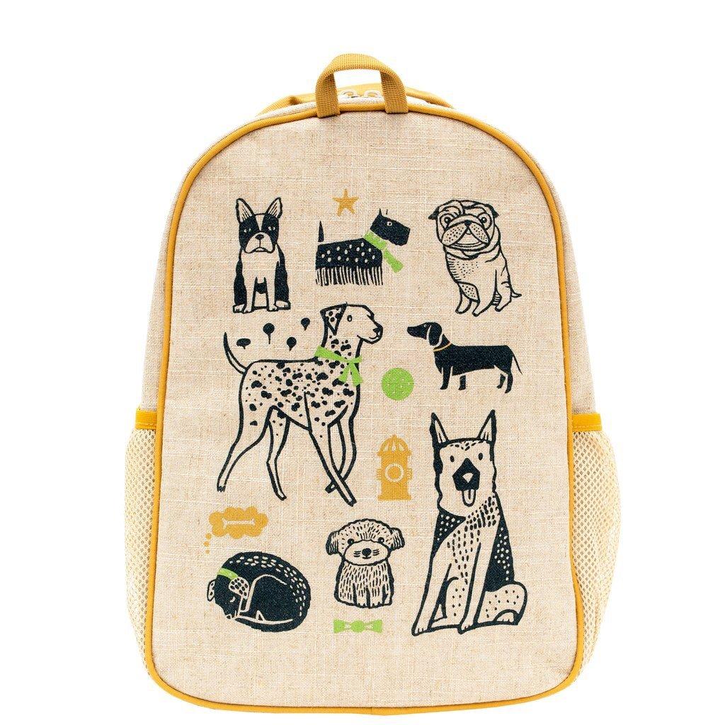 $40 NEW Soyoung Backpack Grade School Natural Linen Cotton Lightweight Durable
