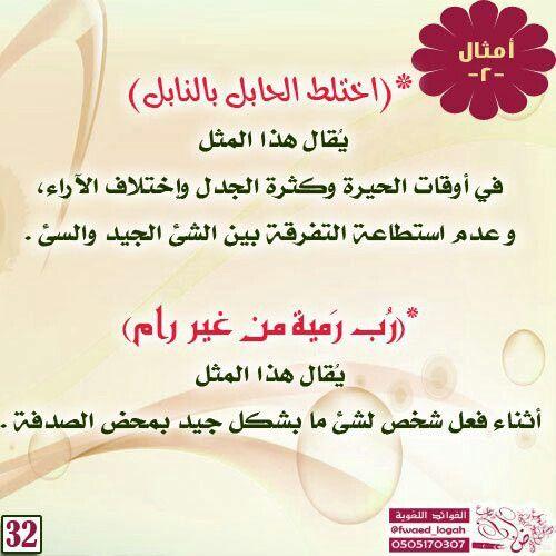 اختلط الحابل بالنابل Arabic Language Language Hand Painted Dishes