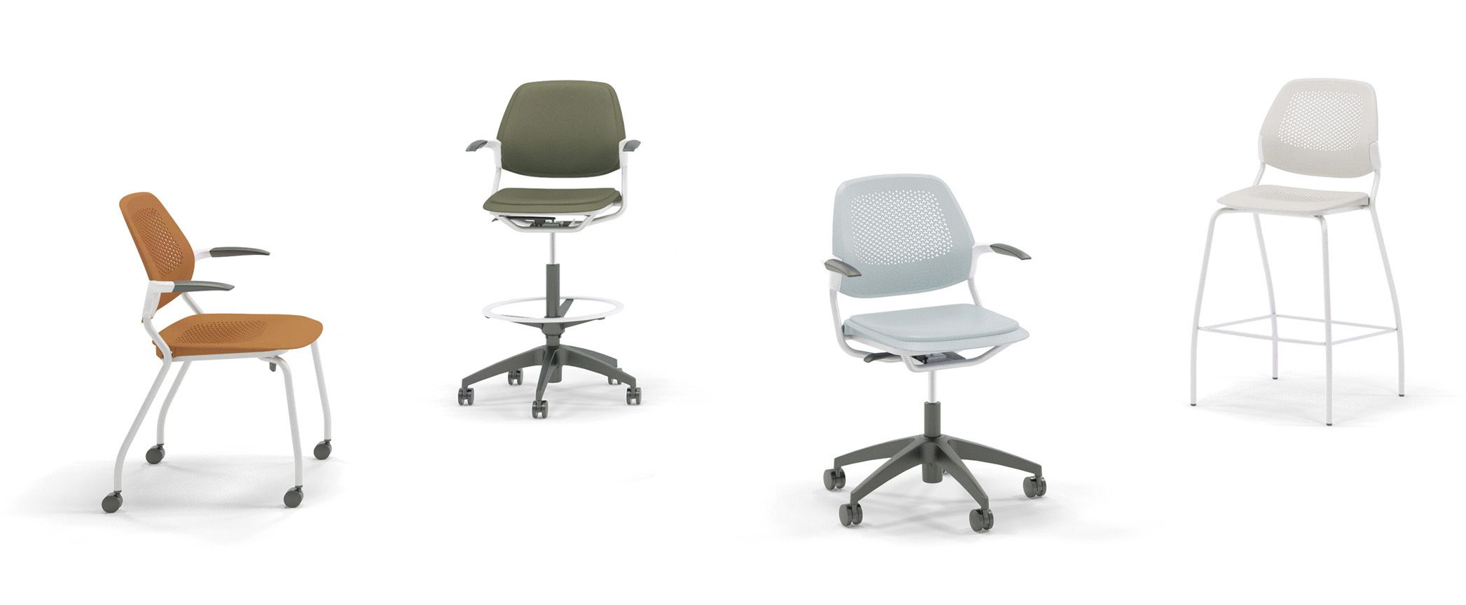 Allsteel Office Chair White Wishbone Replica Inspire Furniture Have A Seat