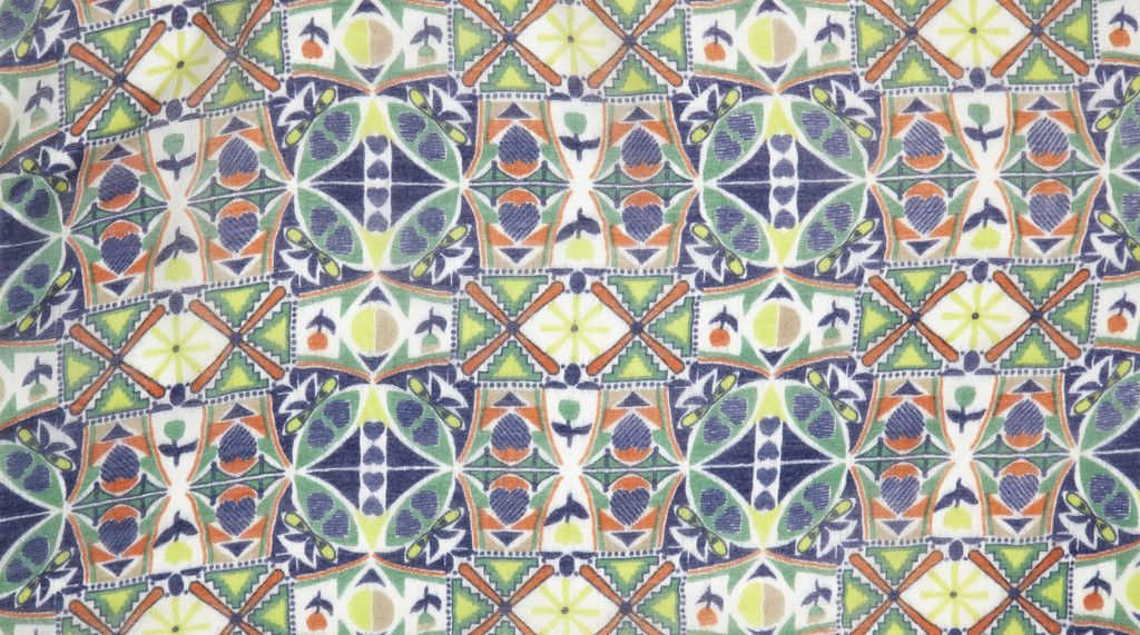 Yarnz Geo Hearts Scarf - Lime - Yarnz