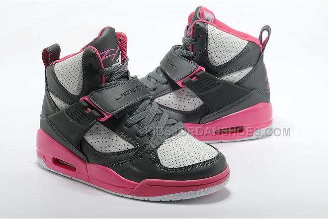 0c3e8a4a9d8 http   www.kidsjordanshoes.com jordan-flight-45-gs-grey-pink-girls ...