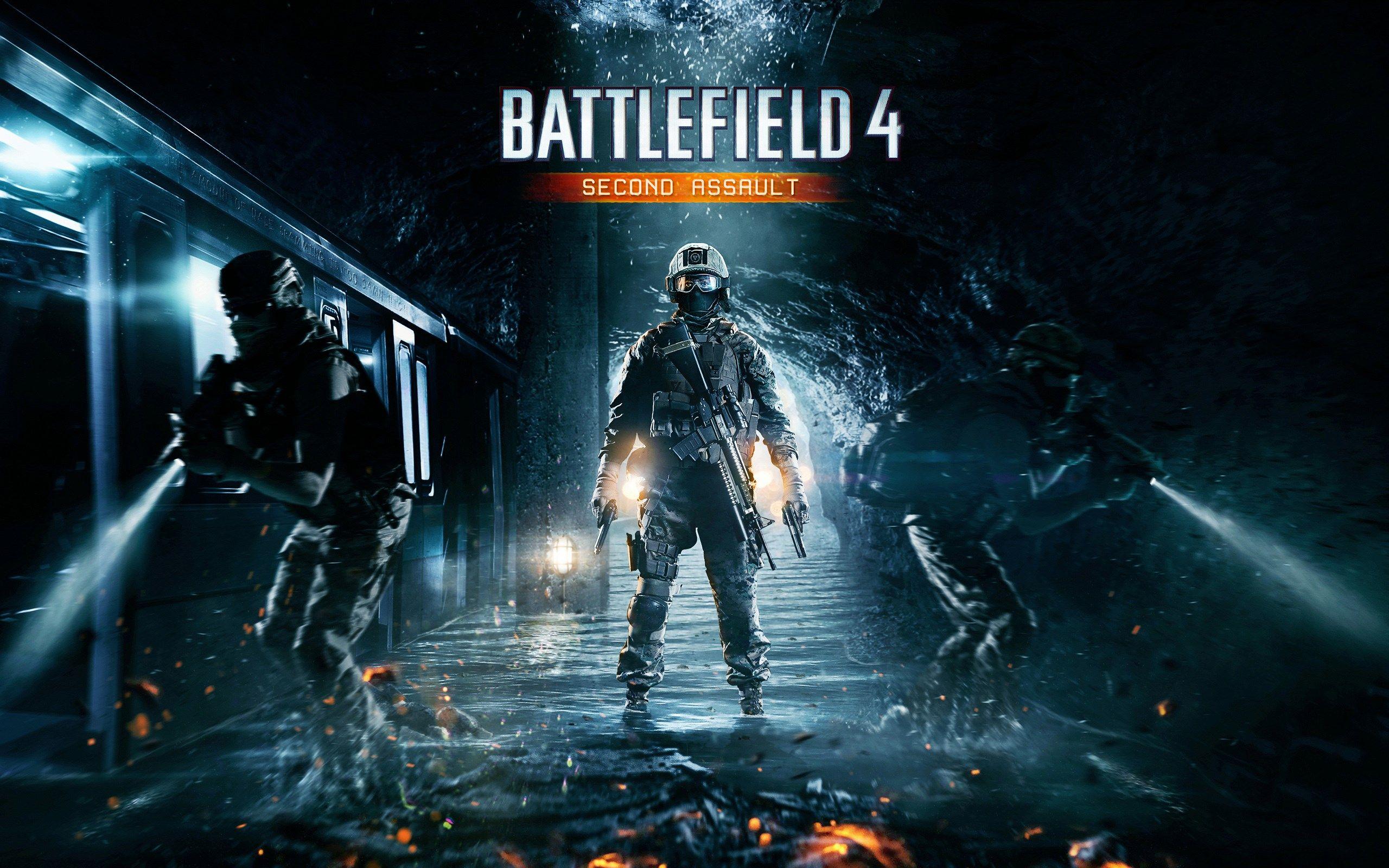2560x1600 Battlefield 4 Second Assault Game Wallpaper