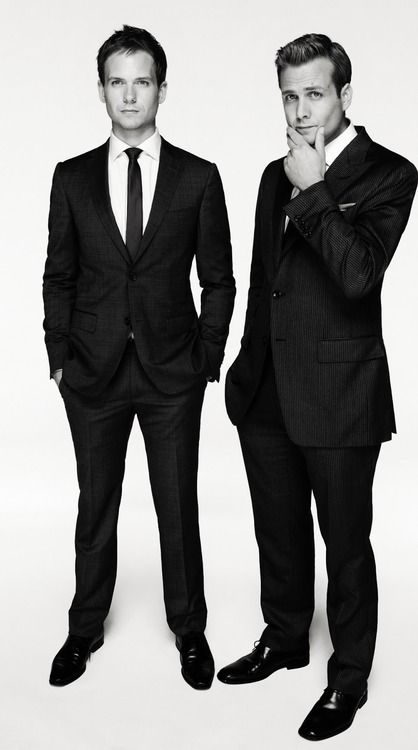 Suits - Mike Ross & Harvey Specter