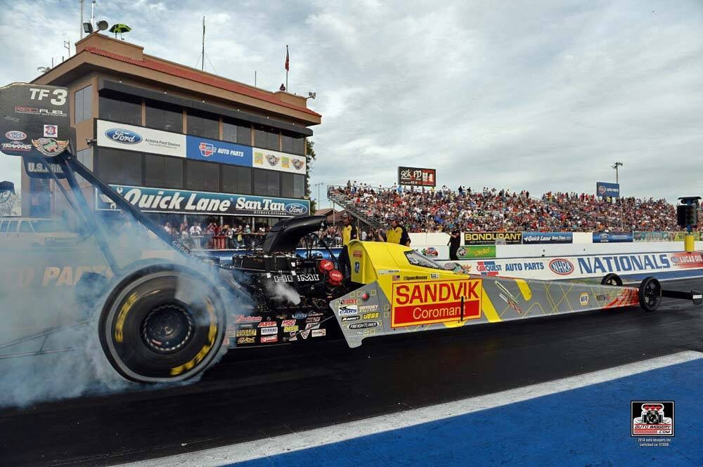 spencer massey crew race the sandvik red fuel dragster in the 2015 rh pinterest com