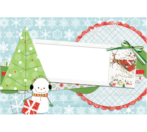 merry christmas frames png   Photo frame - Scrap style Christmas ...
