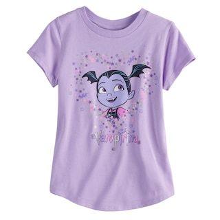 38ed5b854b7a Disney's Vampirina Girls 4-10 Curved Hem Tee by Jumping Beans® #MyShopStyle  #ShopStyle #Back2school #afflink