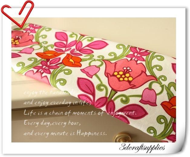 weißen Hintergrund Blumen Stoffe gemustert 324