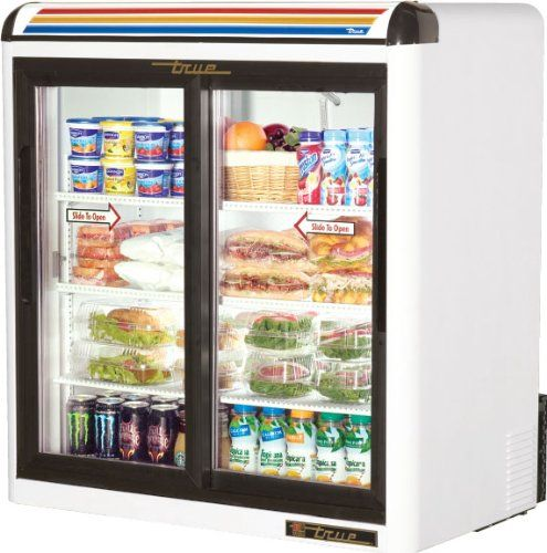 Real Mfg Gdm 9 36 Wide Slide Doorway Counter Top Fridge Http