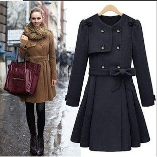 slimnoble modern winter dress vintage 50s dresses 2014 women ...