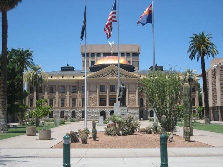 Arizona Capitol Building Phoenix Az Arizona Capitol Building Arizona State Capitol