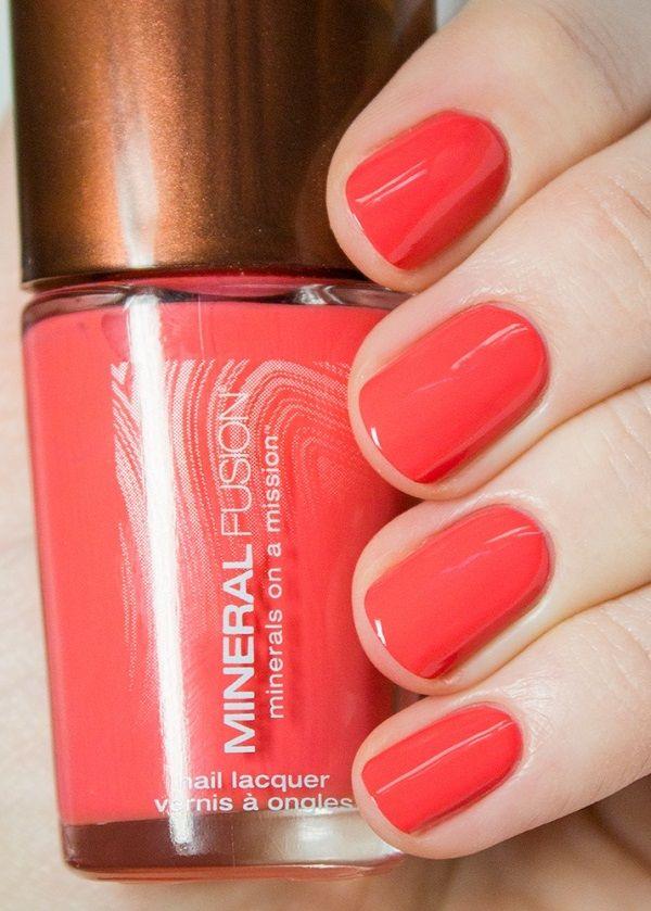 Mineral Fusion Nail Polish, Coral Reef - Price: $7.59 | Pretty Hands ...