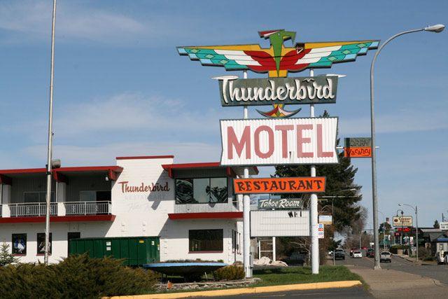 More From Ellensburg Ellensburg Thunderbird Motel Traditional Tattoo Flash