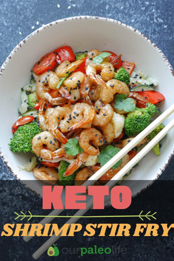 Keto Shrimp Stir Fry : A Healthy Asian Stir Fry Recipe | Our Paleo Life