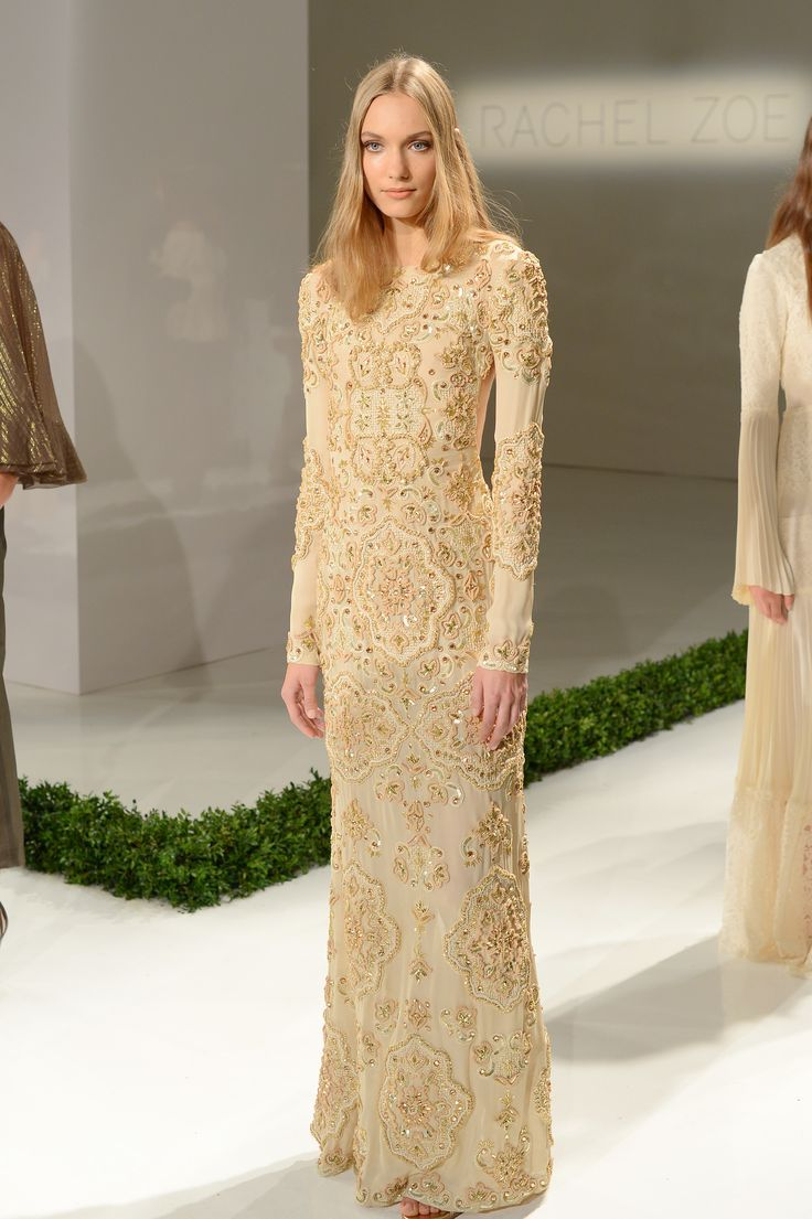 Exceptional Rachel Zoe Wedding Dress Http://itgirlweddings.com/14 Top Looks From Nyfw/