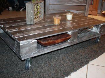table basse en palette rcuptable bassetransformation et cration de petits mobiliers - Meubles En Palettes De Recup