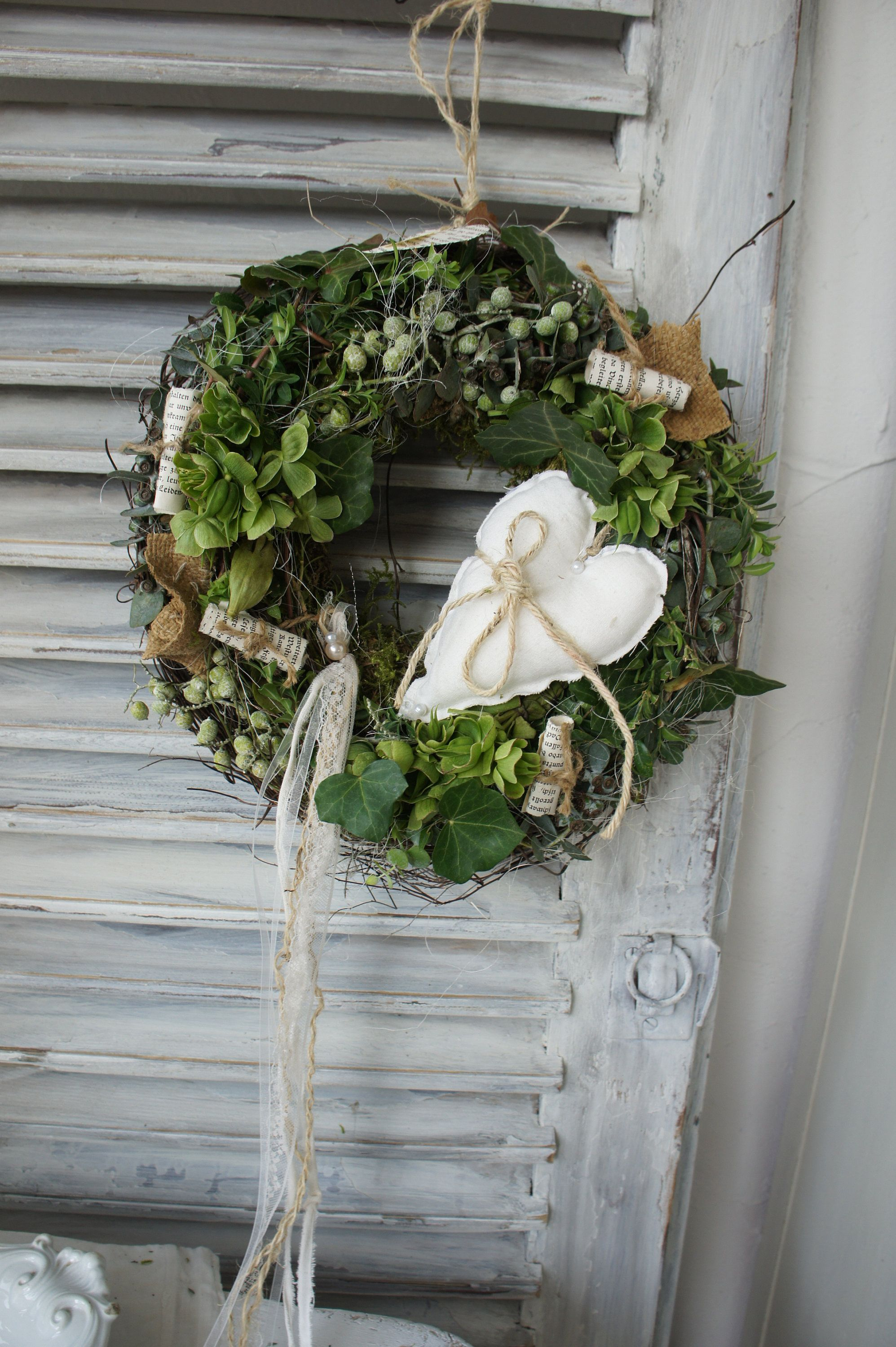 """Photo of Wreath """"heart of all love …"""""""