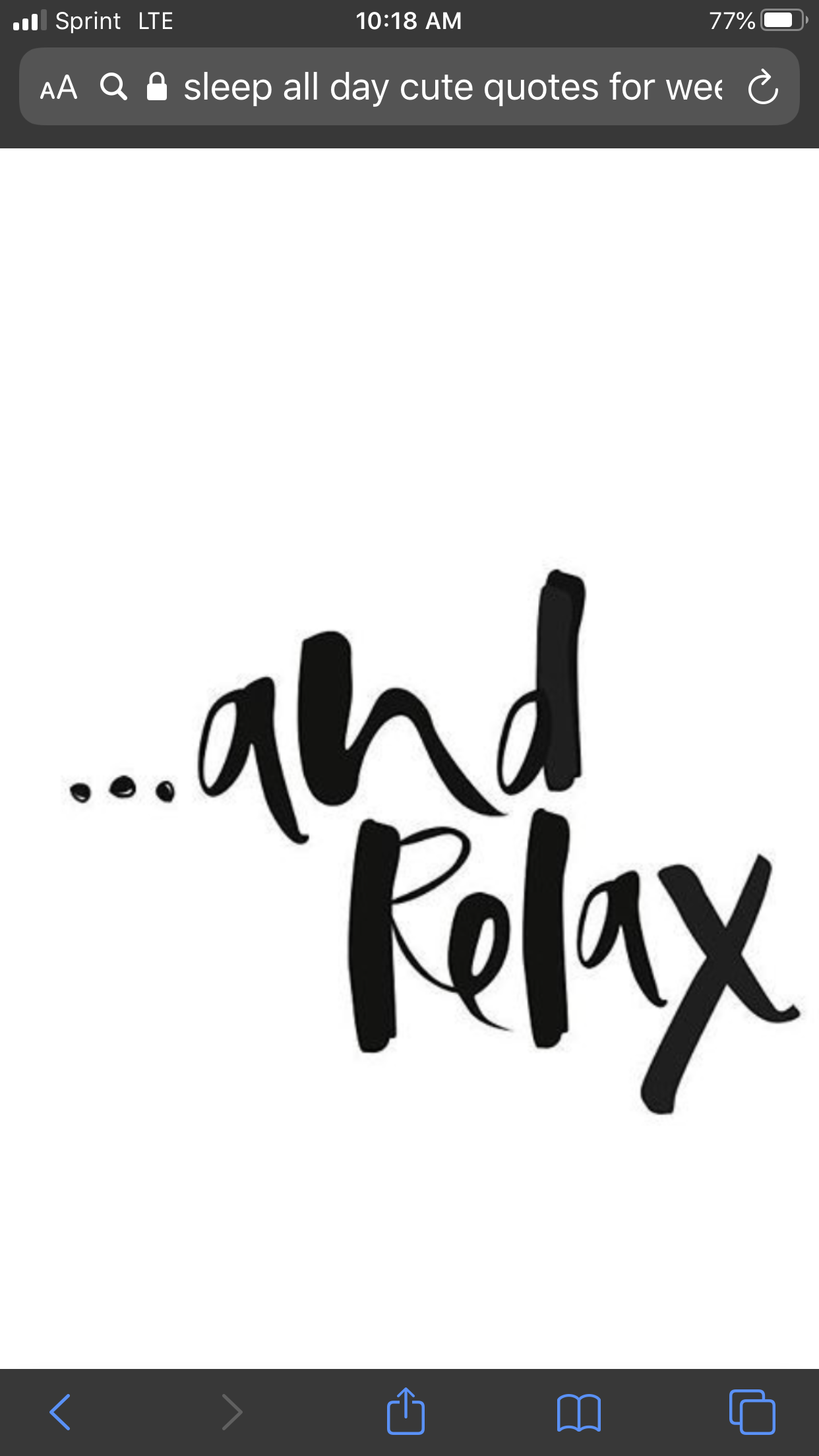 Relaxing Ahhhh Cute Quotes Sleep Quotes Quotes