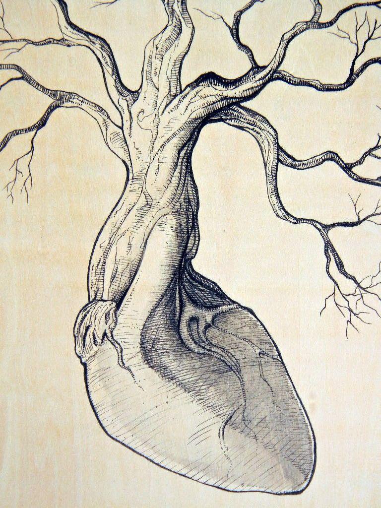 Illustration on WoodPanel - Root of Life.   chick kline   Pinterest ...