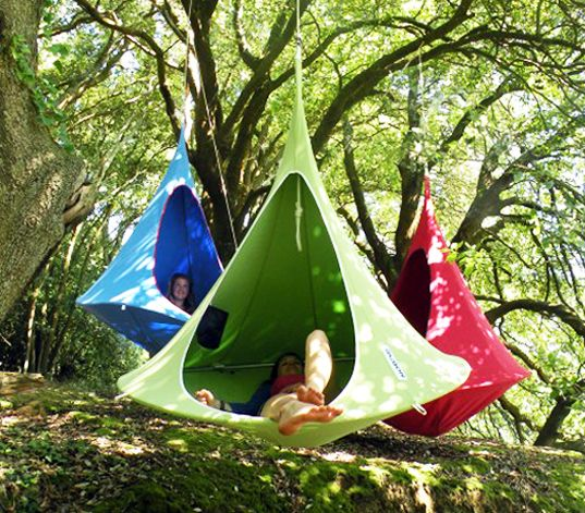 Cacoon Is A Hanging Tent That Lets You Get Away From It