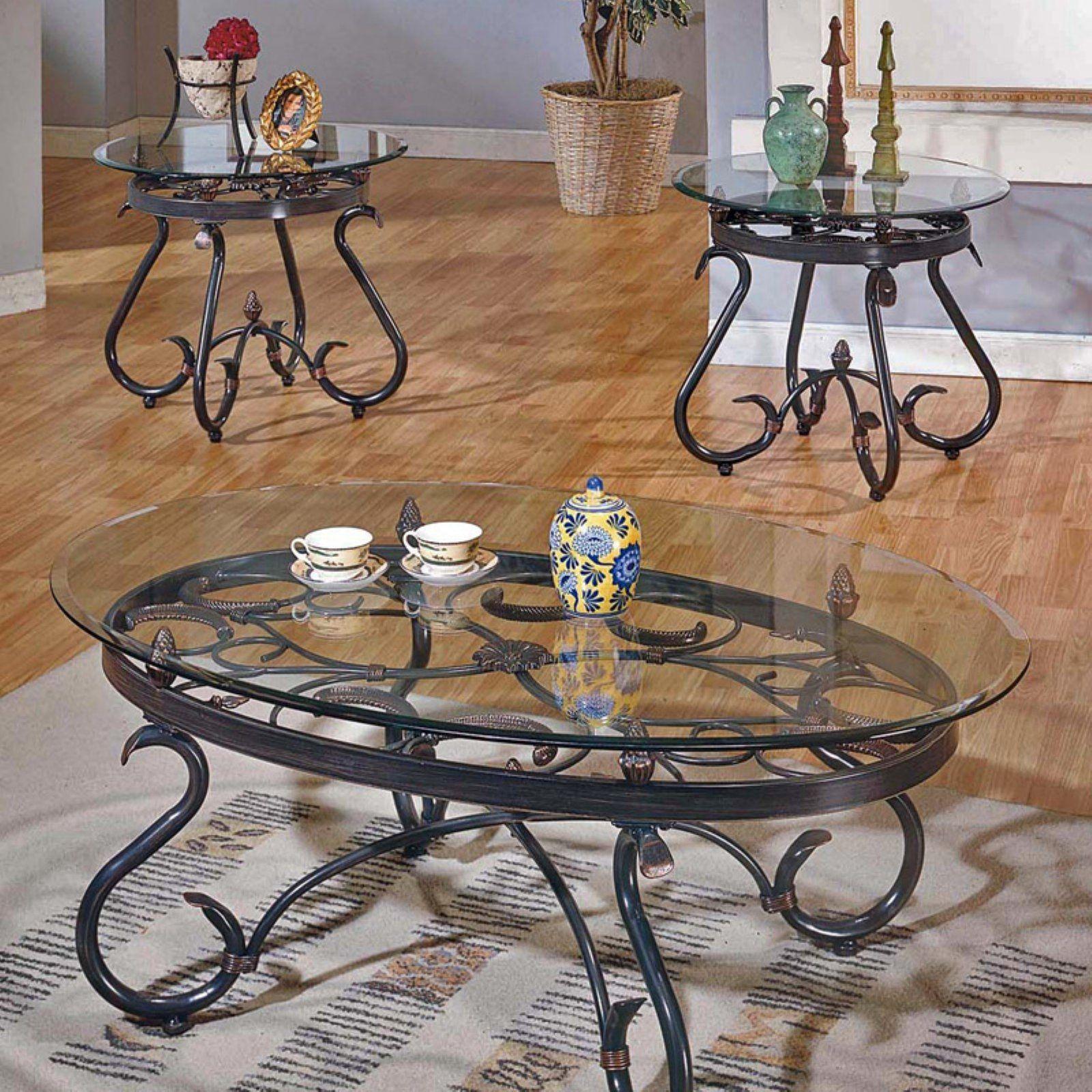 Best Steve Silver Lola Coffee Table Set 3 Piece Coffee Table 400 x 300