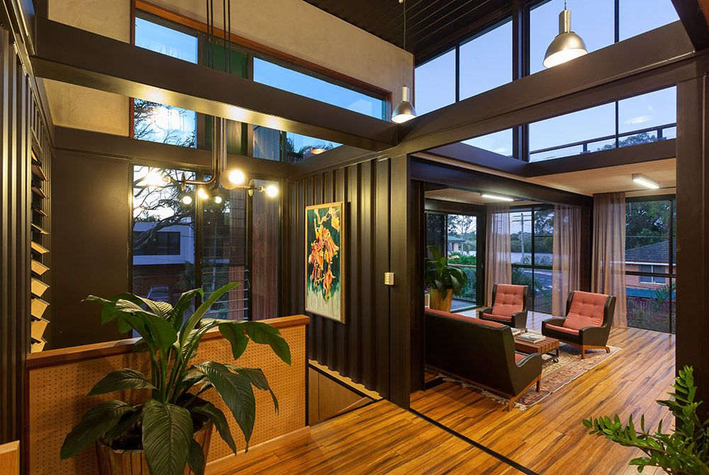Grand Designs Australia Building A Container Home Container House Plans Container House Interior