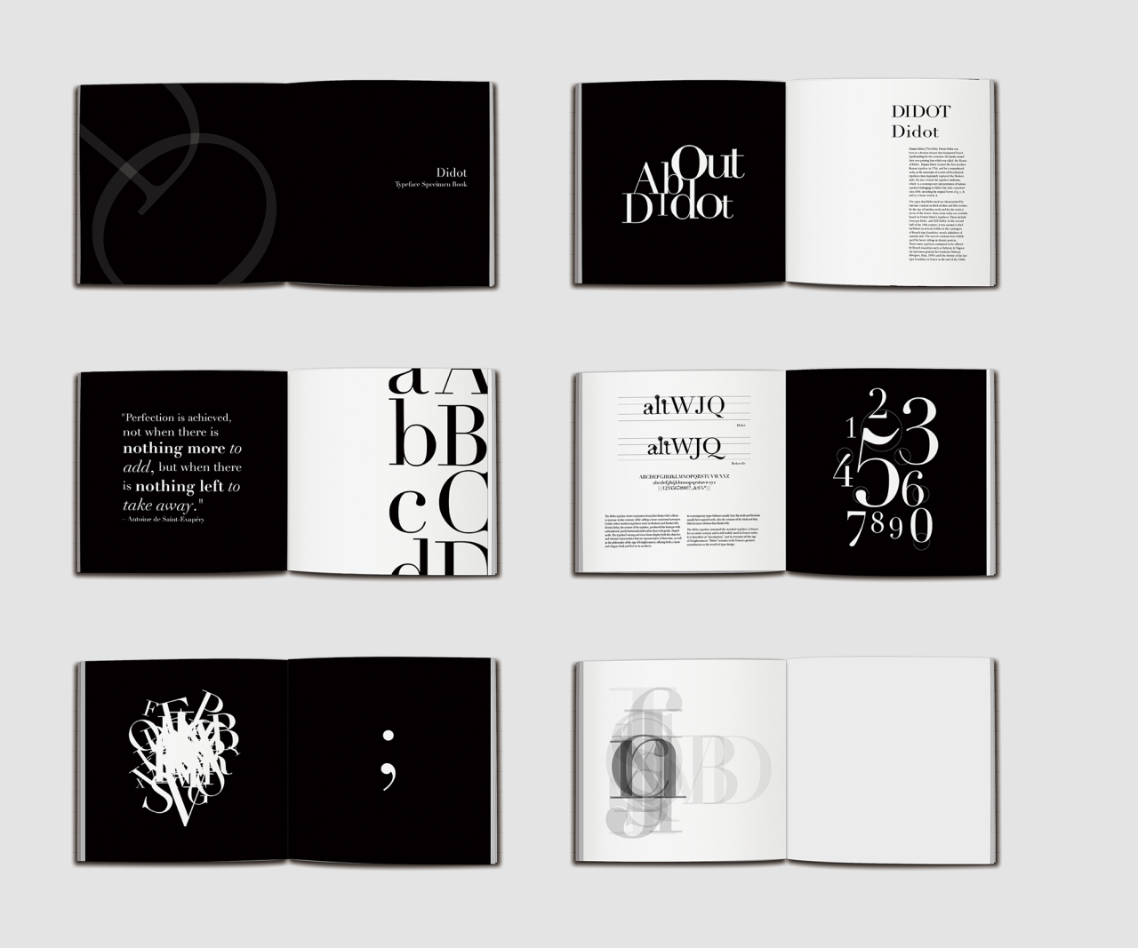 Rikkihuang Typography Book Book Design Layout Book Design Inspiration