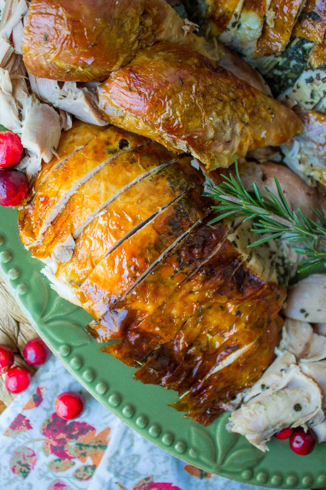 Photo of Sage Butter Roasted Turkey